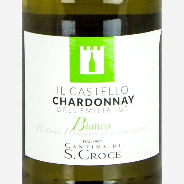 Chardonnay-dell'-Emilia-bianco-etichetta-linea-il-castello