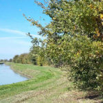 Il territorio della cantina di santa croce fiume vista